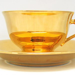 Gold Cup Saucer