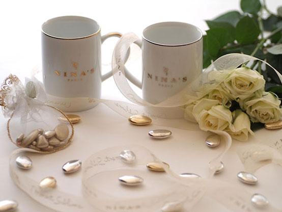gold platinum mug cup