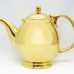 Gold Tea Pot